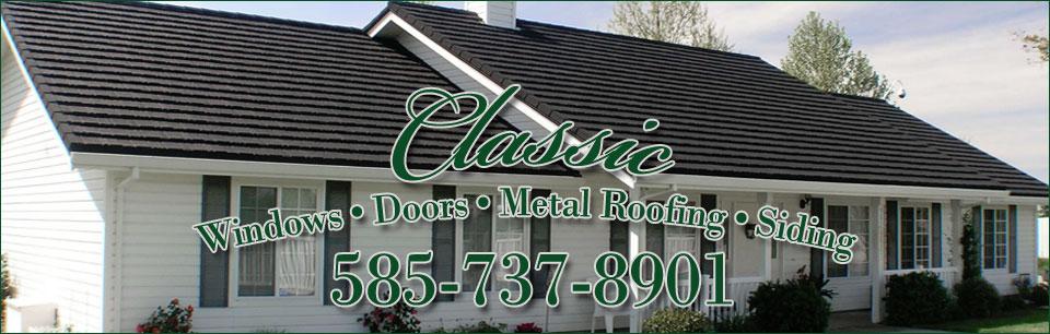 Classic Window Amp Door Replacement Rochester Best Windows